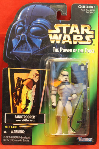 Star Wars Power of the Force POTF Green Card Sandtrooper .01