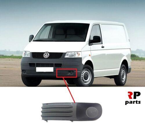 Pour VW Transporter T5 03-09 Nouveau Pare-chocs avant Foglight Cover Gray Gauche N//S