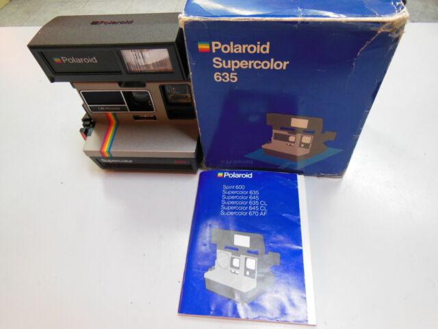 Polaroid Supercolor 635  Sofortbildkamera