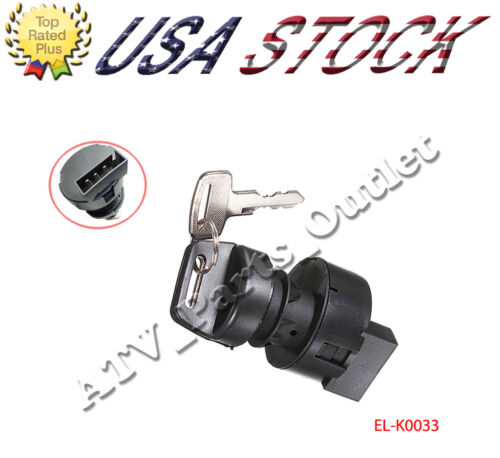 IGNITION KEY SWITCH CAN AM OUTLANDER 400 4X4 MAX STD XT 2003-2008 ATV SWITCH