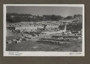 Rhodes-Archaeology-RP-Photograph-Vintage-Postcard-Greece-L-403