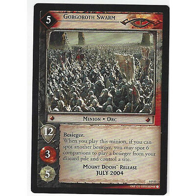 CCG 30 Lord of the Rings / Hobbit Promo 0P55 Gorgoroth Swarm