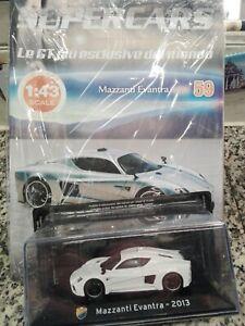 MAZZANTI-EVANTRA-2013-SUPERCARS-GT-C-1-43-59-DIE-CAST-MIB
