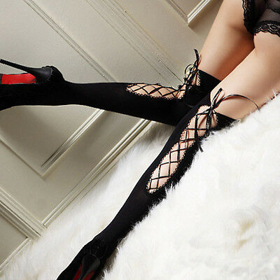 Womens Sexy Lady Top Thigh-Highs Stockings Socks Nightclubs Pantyhose Long Socks