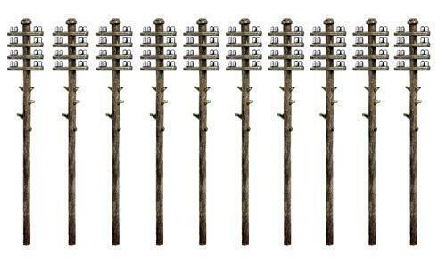 Ratio 211 N Gauge Telegraph Poles Kit
