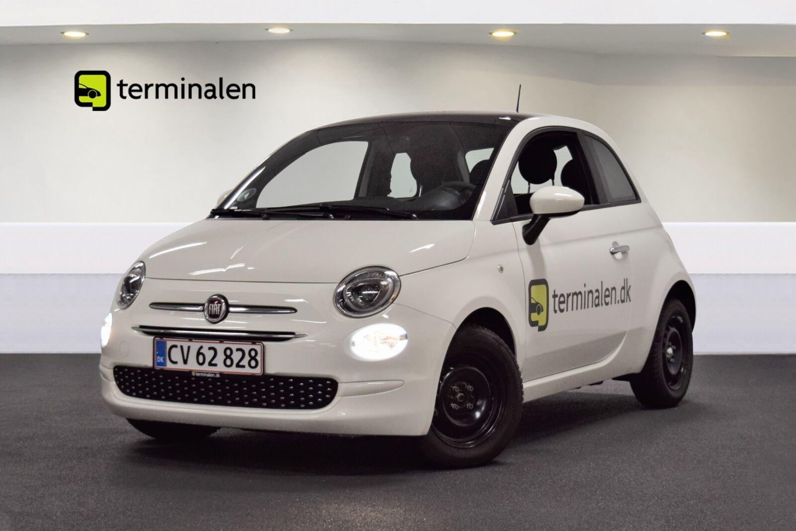 Fiat 500 1,0 Lounge+ 3d - 124.800 kr.