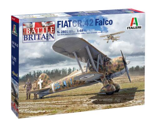 Italeri 1//48 The Battle of Britain Fiat CR.42 Falco # 2801