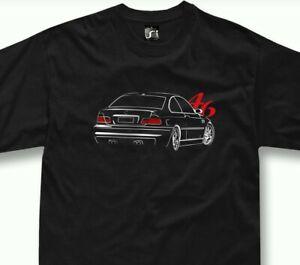 Details about T Shirt for BMW e46 m3 fans 320 323 325 Tshirt + Long Sleeve + Hoodie show original title