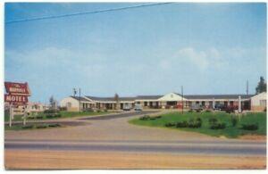 Maryville Motel Tennessee Postcard