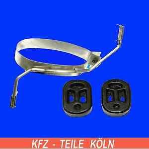 2 x neu Peugeot 206 Schrägheck 1999 2A//C 1.4i Auspuff Gummi Abgasanlage Halter