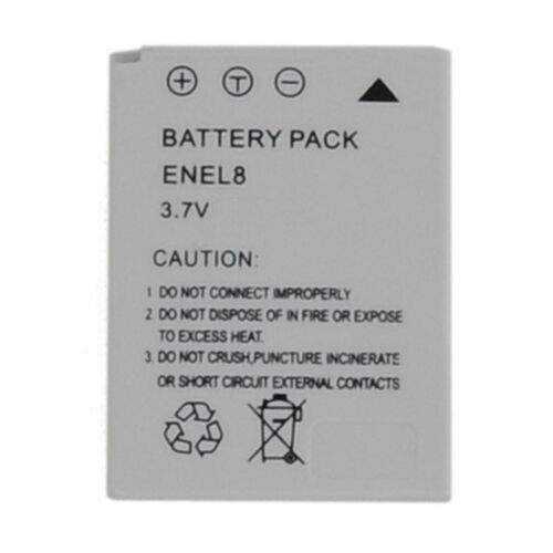 Take TK-EN-EL8HC Batteria Li-Ion 800mah Compatibile Sostituisce Nikon EN-EL8