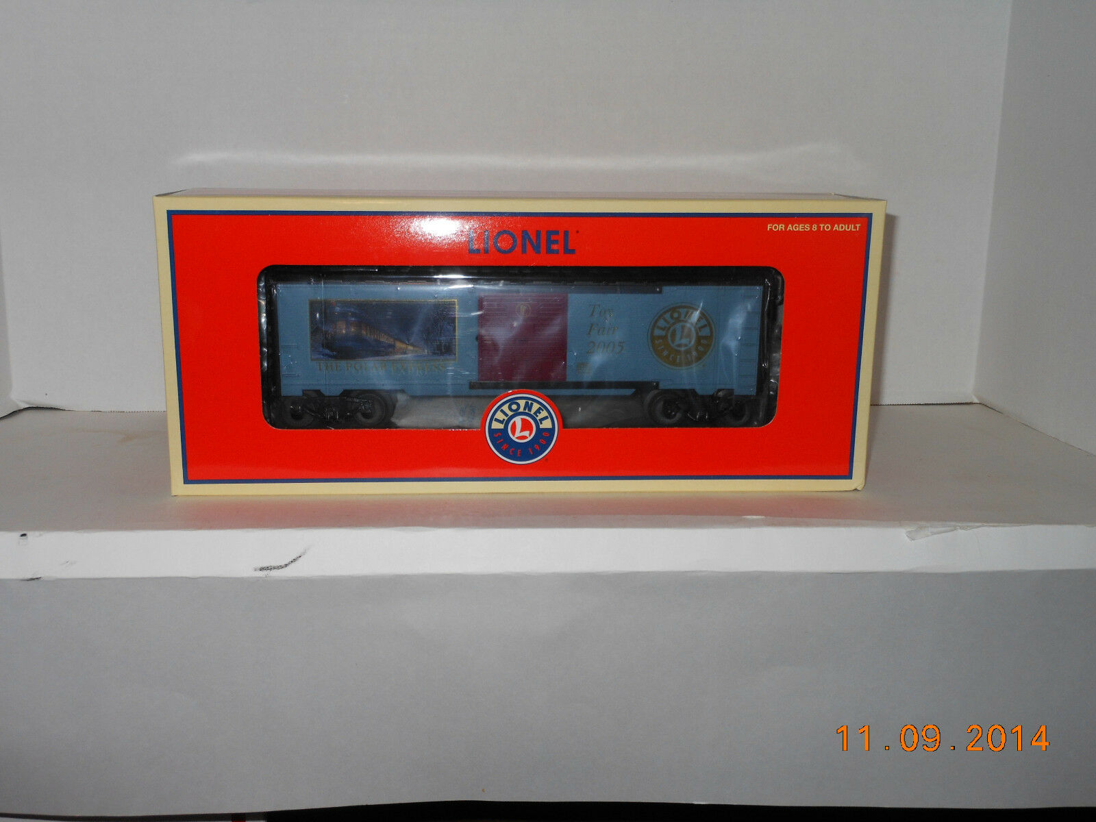 LIONEL polar express leksak fair lådabil