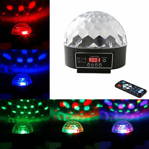 Rgb disco dj stage light home club party dmx512 led for Home lighting effects