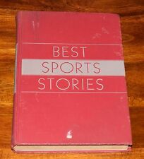 BEST SPORTS STORIES IRVING T. MARSH & EDWARD EHRE HC FORUM BOOKS 1946 1ST EDIT.