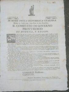 1797-MODENA-E-REGGIO-REPUBBLICA-CISALPINA-SUL-DIVERTIMENTO-E-LE-FESTE
