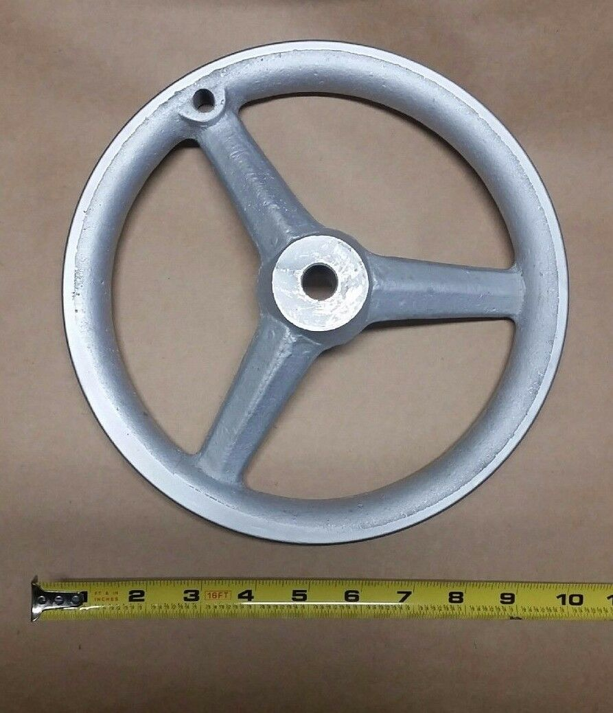 9-7 8  Satin Chrome Rim Handwheel