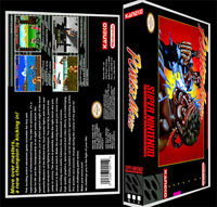 Power Moves - Snes Reproduction Art Case/box No Game.