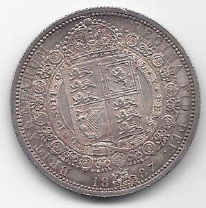Gran-Bretagna-1-2-Corona-1887-R-Victoria-SENZA-CIRCOLARE-Unicirculatet