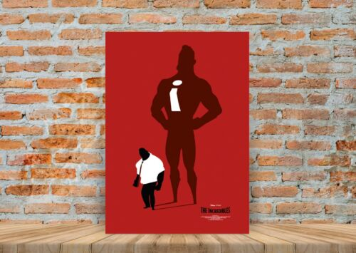 The Incredibles Kids Movie Poster or Canvas Art Print A3 A4 Sizes