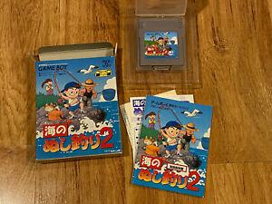 Umi no Nushi Tsuri River King 2(Complete in Box,Saves)JAPAN Ver Nintendo GameBoy