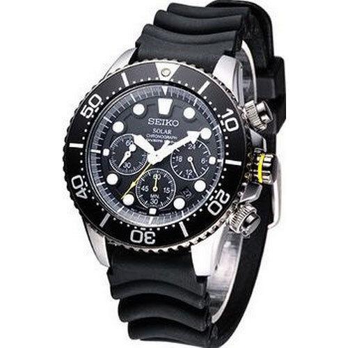 Seiko SSC021P1 SSC021 Solar Chronograph Mens Diver Watch WR200m NEW RRP $650.00