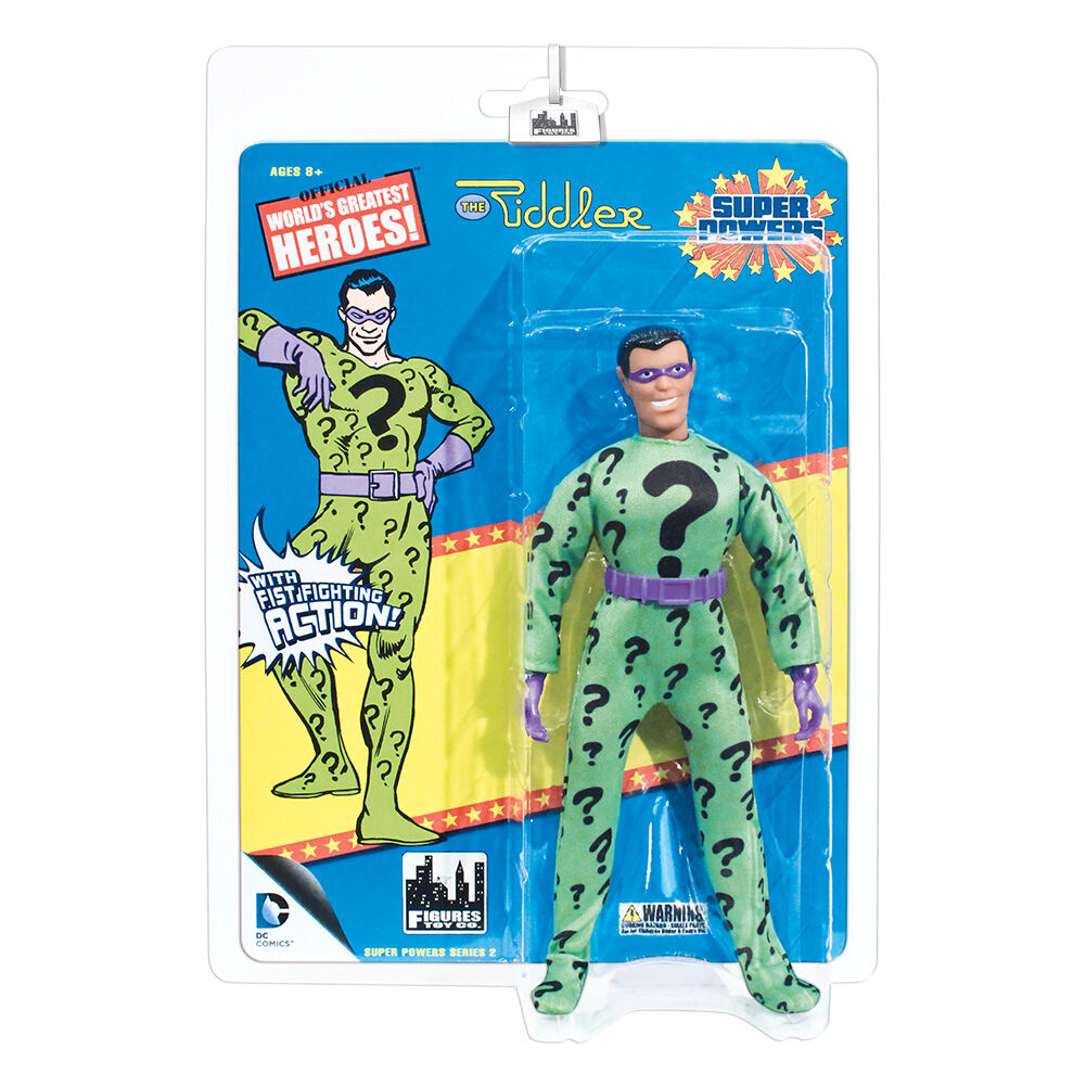 Super Powers Retro Style Action Figures Series 2  Riddler by FTC