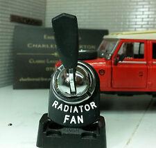 Land Rover Series 2 2a 3 Radiator Fan Switch Genuine Lucas RTC430 Dash Panel