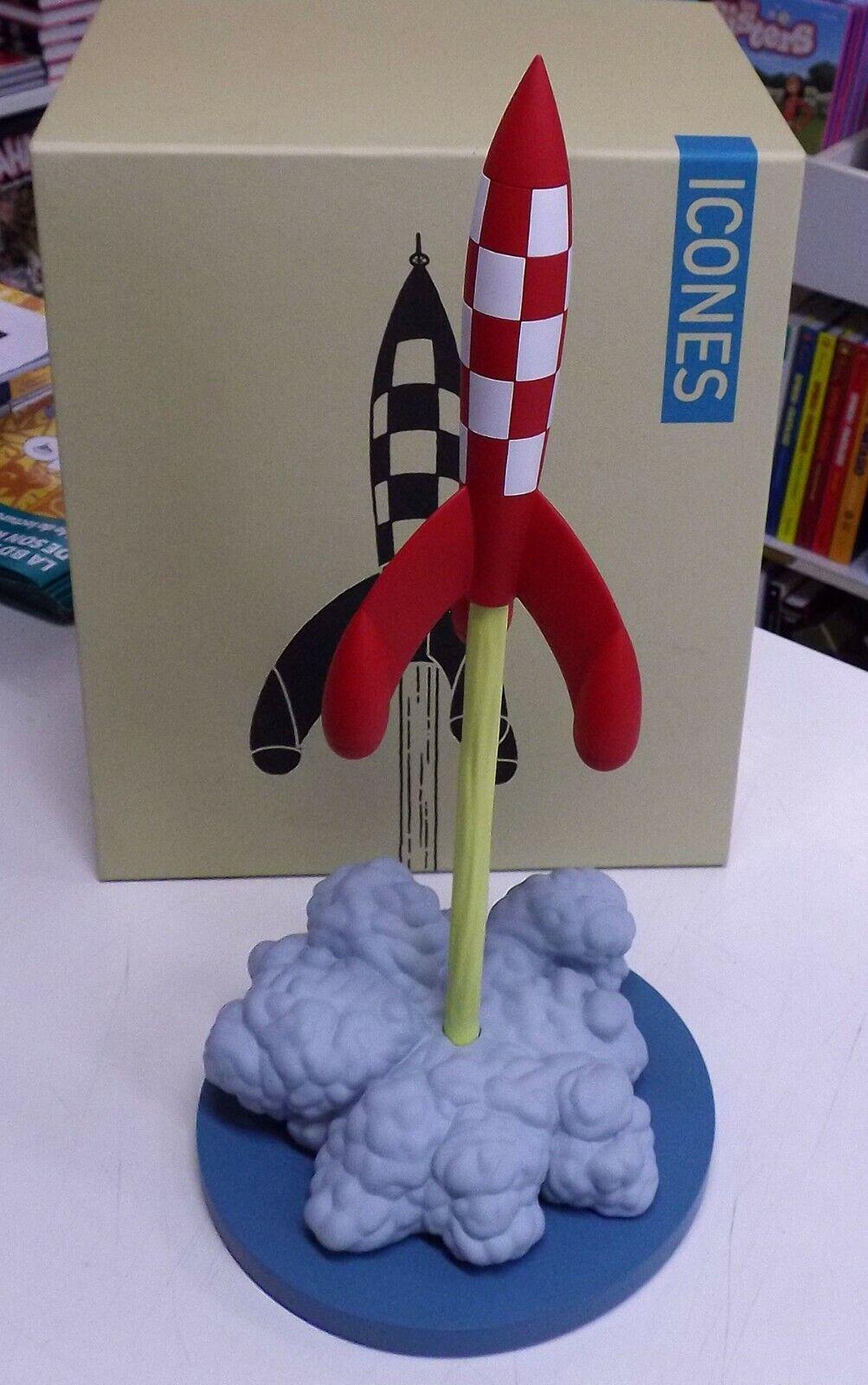 MOULINSART   Tintin 46405   Les icônes La fusée au décollage   Ed. 2018 ☰