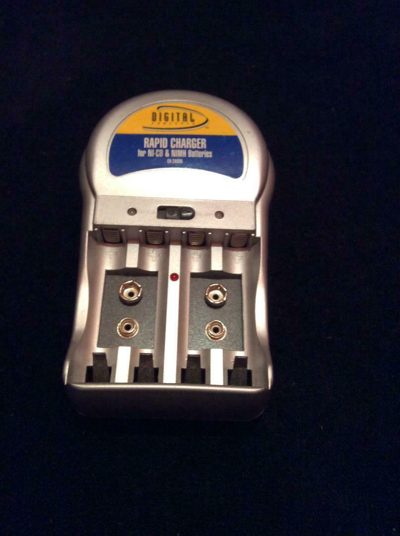 RAPID CHARGER for NI-CD & NIMH batteries