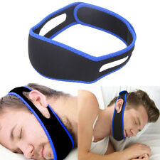 Snore Stop Adjustable Belt Anti Snoring CPAP Chin Strap Sleep Apnea-jaw Solution