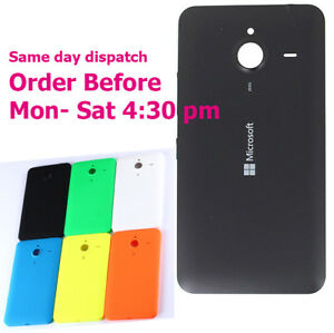 premium selection 32072 9ab86 Details about Battery Back Cover Housing case Door OEM For Microsoft Lumia  640XL N640XL 640 xl