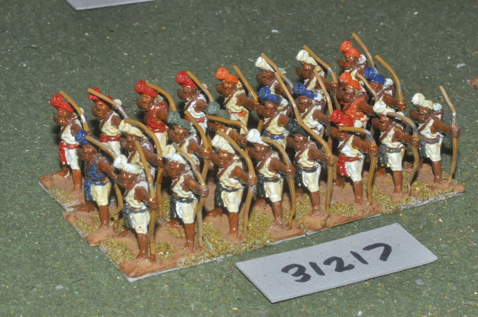 25mm classical   indian - archers 24 figures - inf (31217)
