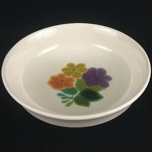 VTG Round Vegetable Serving Bowl by Franciscan Floral Earthenware California USA