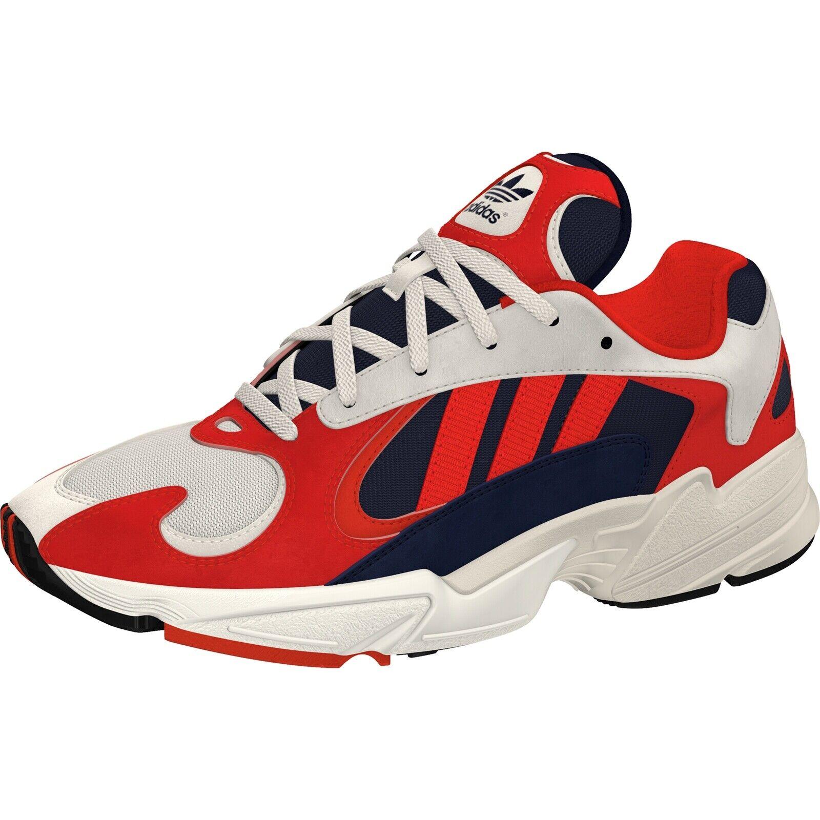 Adidas YUNG-1 Schuhe Herren Turnschuhe weiss schwarz conavy 51571