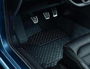 Genuine Vw Golf Mk7 Rubber Mats Front Set 2013 Onwards