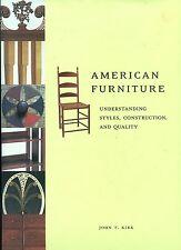 Appraiser's Book - Understanding American Antique Furniture Styles Construction