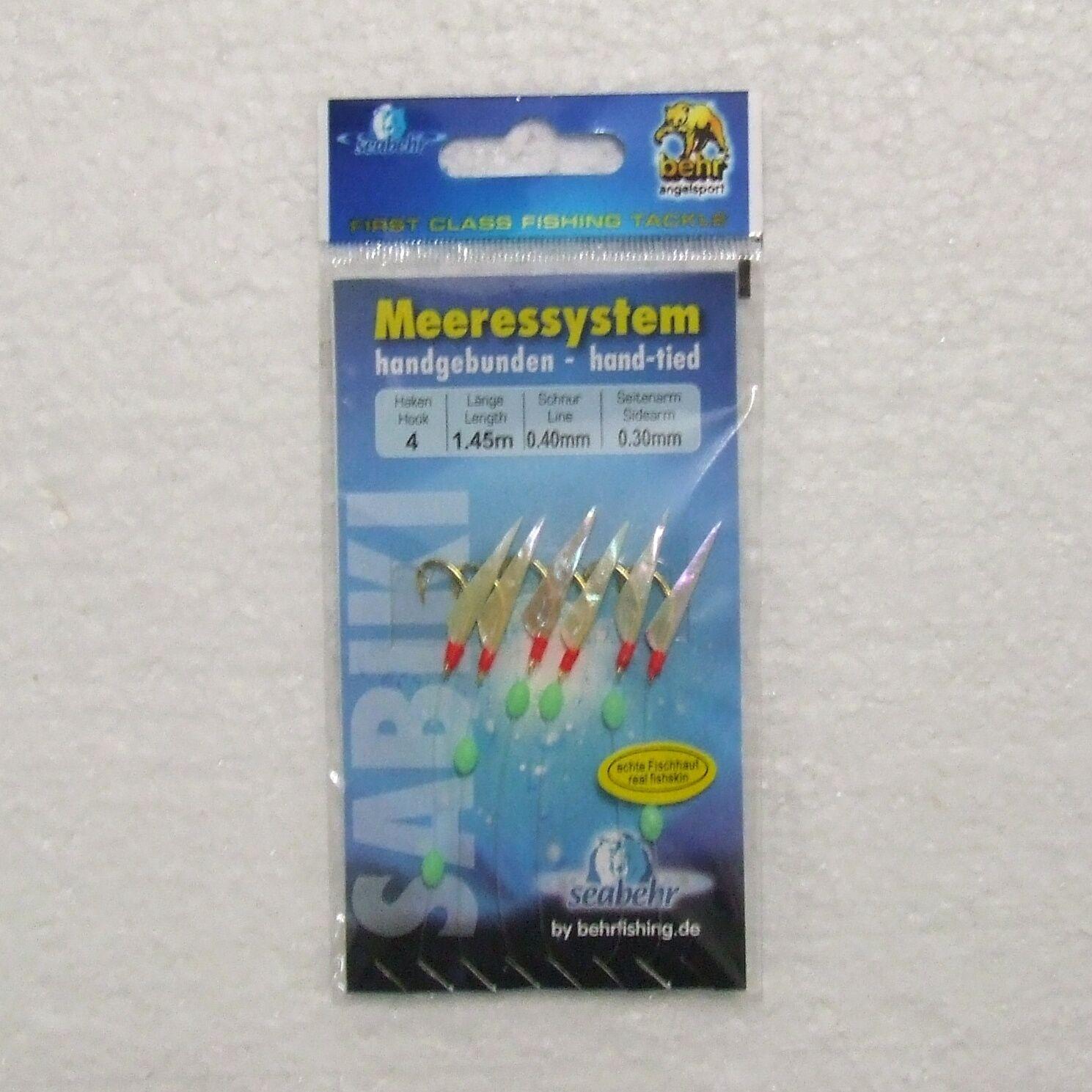 Behr Mini Fisch Shrimp Makrelen Heringssysteme Heringspaternoster