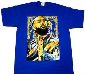 NIPSEY-HUSSLE-T-shirt-Crenshaw-Urban-Hip-Hop-Rap T-shirt Size S to 5XL