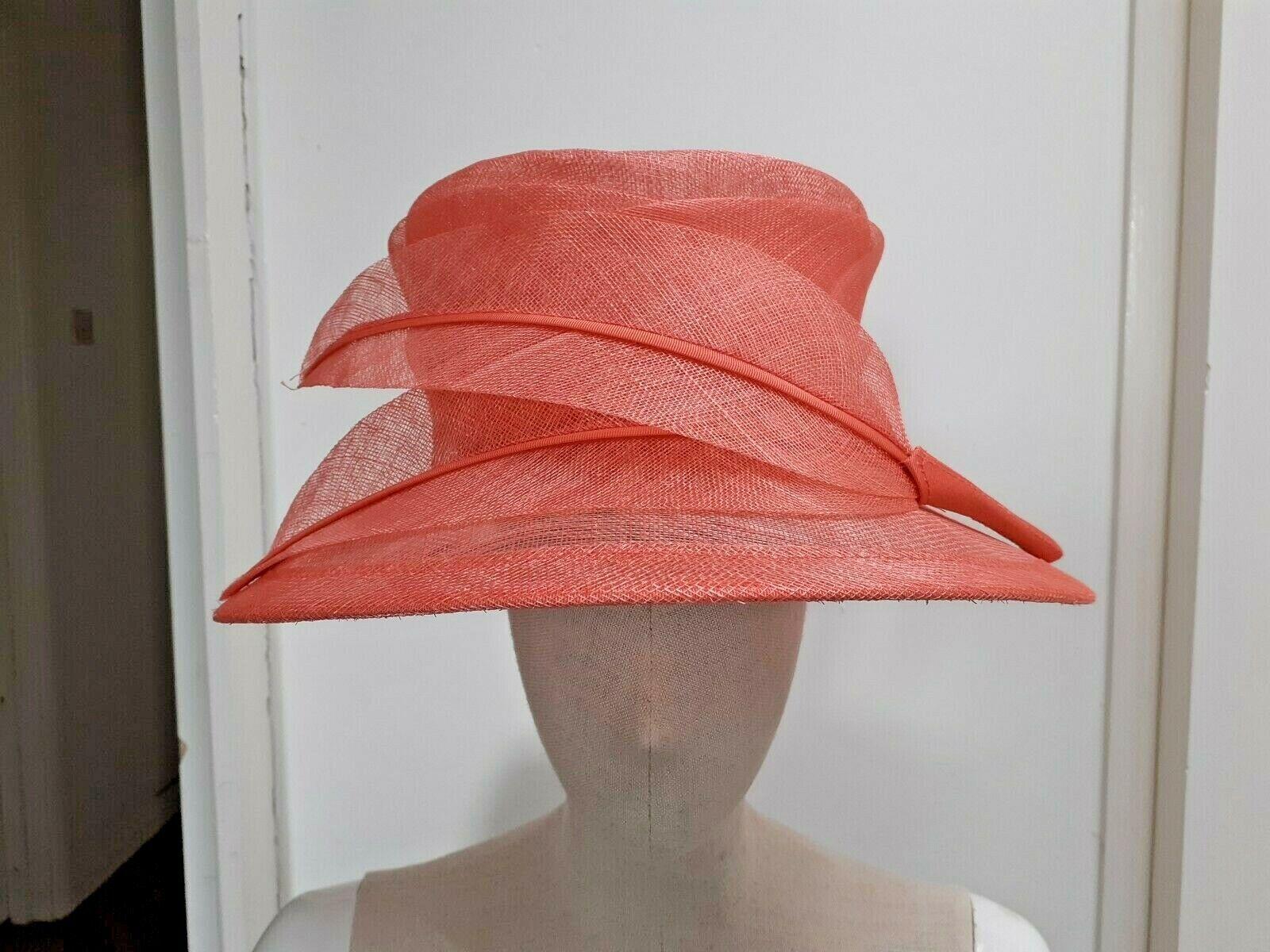 Pink Straw Hat Wedding Races