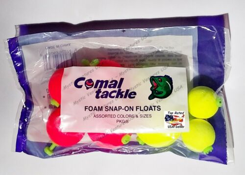 YOU PICK Comal Tackle Cigar Floats Bobbers Crappie Fishing Unweighted Orange