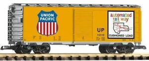 PIKO-G-SCALE-UP-STEEL-BOXCAR-120152-ARMOUR-YELLOW-BN-38831