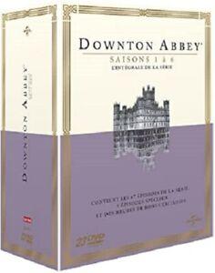 COFFRET DVD NEUF HISTOIRE : DOWNTON ABBEY - SAISONS 1 A 6 - SERIE COMPLETE