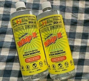 Amazing WHIP-IT Concentrated MIRACLE CLEANER, Stain Remover NATURAL Disinfectant