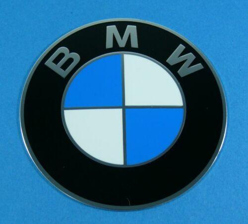 BMW Emblème 70mm Chapeaux de Moyeux Original Partie Auto-Adhésif Pr Ex Jantes,