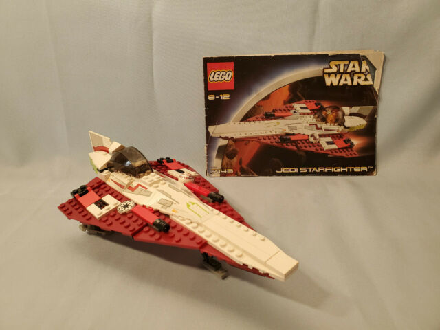 Lego 75214 Star Wars Anakin/'s Jedi Starfighter No Box 100/% Complete