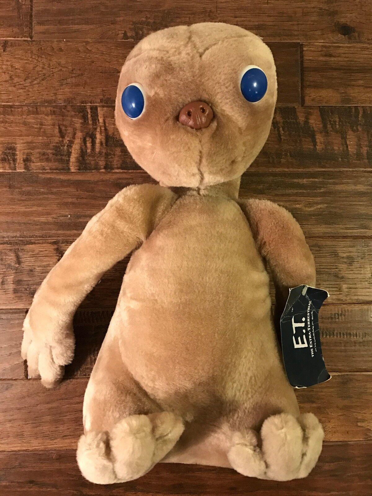 1982 Vintage Kamar  E.T.  The Extra-Terrestrial 16  Plush Stuffed Animal, RARE