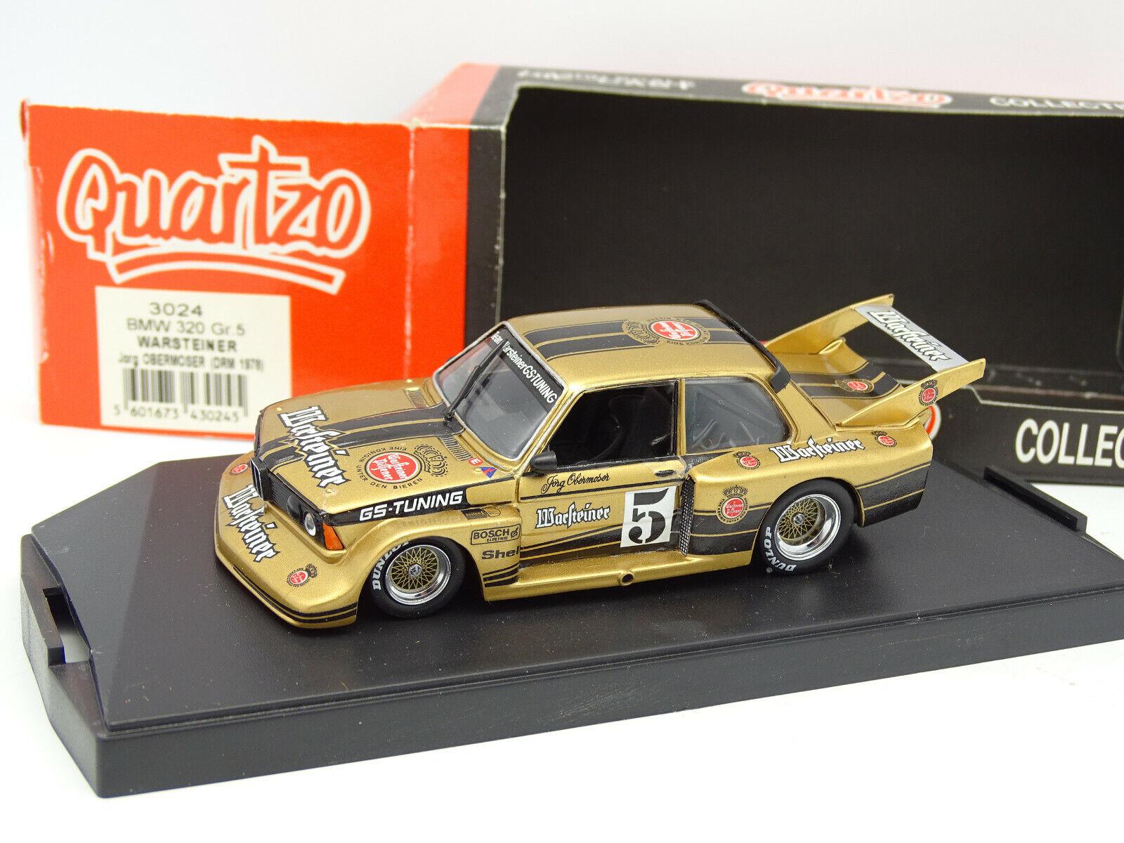 Quartzo 1 43 - BMW 320 I Gr5 Drm 1978 Warsteiner
