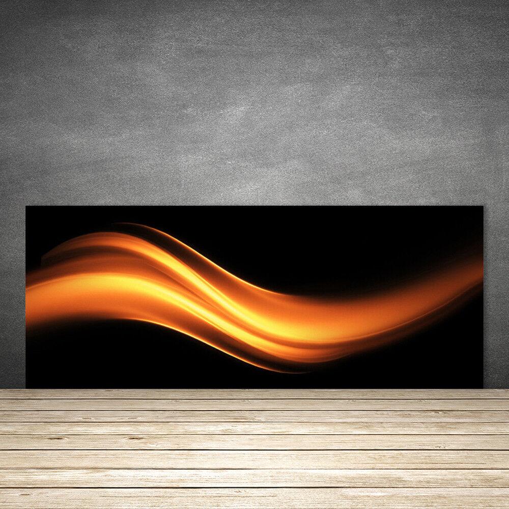 Crédence de cuisine en verre Panneau 125x50 Art Abstraction