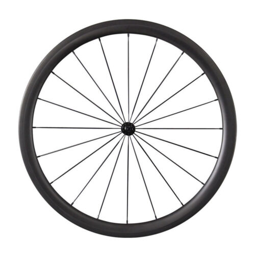 Ceramic Bearing Hub Carbon Road Bike Wheels Set 38mm depth 25mm Width Clincher