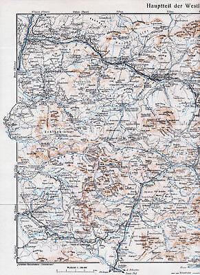 Dolomiten West 1939 Orig. Landkarte St-cassian Campitello Kastelruth Grödner Mit Traditionellen Methoden